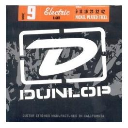Juego de cuerdas Dunlop 9 light