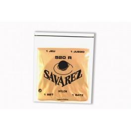 Juego de cuerdas clásica Savarez 520 R